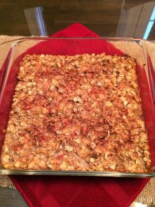 Baked Apple Cinn Pecan Oatmeal