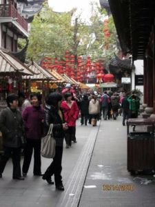 Yu Gardens lanterns