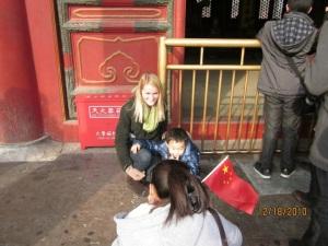 Anna with child
