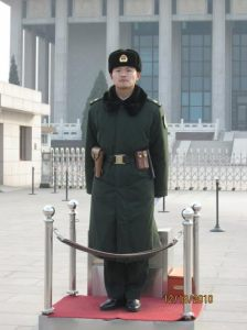 Guard in the square