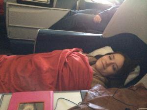 First Class nap