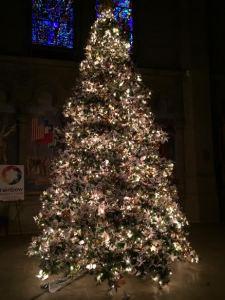 Crane Christmas Tree